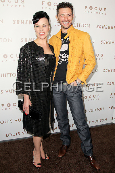"DEBI MAZAR, GABRIELE CORCO. Premiere of Focus Features' ""Somewhere"" at the Arclight Hollywood Cinema.  Los Angeles, CA, USA. December 7, 2010. ©Celphimage."