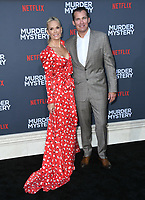 "10 June 2019 - Westwood, California - Molly Sims, Scott Stuber. Netflix's ""Murder Mystery"" Los Angeles Premiere held at Regency Village Theater. Photo Credit: Birdie Thompson/AdMedia"