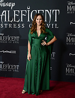 "LOS ANGELES, USA. September 30, 2019: Hayley Orrantia at the world premiere of ""Maleficent: Mistress of Evil"" at the El Capitan Theatre.<br /> Picture: Jessica Sherman/Featureflash"
