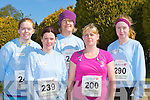 Running in the Lee Strand/An Riocht 10 Miler road race in Castleisland on Sunday morning was l-r: Siobhain Kelleher Millstreet, Catriona Hickey Ballyvourney, Maureen McAdam Scartaglen, Eileen O'Connor Knocknagoshel and Amy Reidy Castleisland..