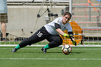 Bridgeview, IL - Saturday June 17, 2017: Michele Dalton during a regular season National Women's Soccer League (NWSL) match between the Chicago Red Stars and the Washington Spirit at Toyota Park. The match ended in a 1-1 tie.