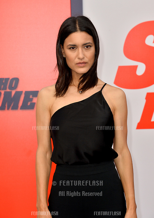Julia Jones at the world premiere for &quot;The Spy Who Dumped Me&quot; at the Fox Village Theatre, Los Angeles, USA 25 July 2018<br /> Picture: Paul Smith/Featureflash/SilverHub 0208 004 5359 sales@silverhubmedia.com