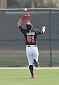 Ichiro Suzuki (Marlins),<br /> FEBRUARY 25, 2014 - MLB :<br /> Ichiro Suzuki of the Miami Marlins catches a ball during the Miami Marlins spring training camp in Jupiter, Florida, United States. (Photo by AFLO)