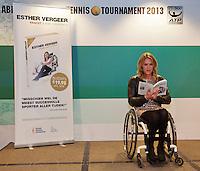 12-02-13, Tennis, Rotterdam, ABNAMROWTT, Esther Vergeer persconferentie