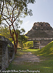 El Castillo pyramid, Xunantunich ancient site, Cayo district, Belize