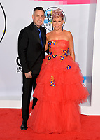Pink &amp; Carey Hart at the 2017 American Music Awards at the Microsoft Theatre LA Live, Los Angeles, USA 19 Nov. 2017<br /> Picture: Paul Smith/Featureflash/SilverHub 0208 004 5359 sales@silverhubmedia.com