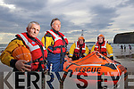 Ballybunion sea and cliff rescue crew hho performed a rescue of two boys aged 7 and 10 on Sunday from left: Jim Enright, Coxswain, Gary Kavanagh, Emmet Lynch and Paul O'Connor, Coxswain.