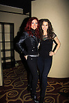 """Alicia Minshew and Jade Starling singer Pretty Poison """"Catch Me I'm Fallin"""" - A Tribute to Pine Valley - All My Children's Darnell Williams """"Jesse"""" on February 17, 2013 at Valley Forge Casino Resort in King of Prussia, PA. (Photo by Sue Coflin/Max Photos)"""