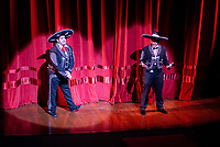 The Knights of Momus celebrate Fiesta de Momus at The Grand 1894 Opera House in Galveston, Texas