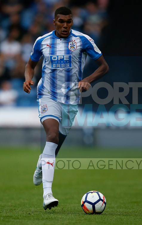 Collin Quaner of Huddersfield Town during the pre season friendly at the John Smith's Stadium, Huddersfield. Picture date: July 26th 2017. Picture credit should read: Simon Bellis/Sportimage