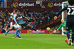 Didier Drogba of Chelsea can't connect to a cross to score his sides second goal - Aston Villa vs. Chelsea - Barclay's Premier League - Villa Park - Birmingham - 07/02/2015 Pic Philip Oldham/Sportimage