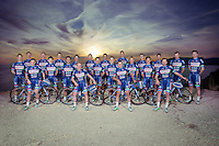 official Team Wanty-Groupe Gobert 2016 Team Photo<br /> <br /> pre-season training camp in Alicante, Spain