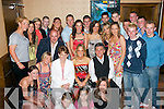 .4760-4763..Party: Linda Hussey, Spa Rd, Tralee (seated centre) celebrated her 21st birthday with her parents Noreen and James and many friends at The Grand Hotel last Friday night.