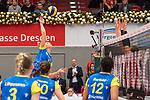 20.12.2017, Margon-Arena, Dresden, GER, DVV-Pokal Damen Halbfinale, Dresdner SC vs. SSC Palmberg Schwerin, im Bild<br /> <br /> <br /> Greta Szakmary (#1, SSC Palmberg Schwerin), <br /> <br /> Foto &copy; nordphoto / Dostmann