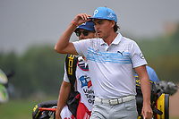 Rickie Fowler (USA) heads down 11 during day 3 of the Valero Texas Open, at the TPC San Antonio Oaks Course, San Antonio, Texas, USA. 4/6/2019.<br /> Picture: Golffile | Ken Murray<br /> <br /> <br /> All photo usage must carry mandatory copyright credit (© Golffile | Ken Murray)