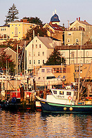 Fishing trawlers, Gloucester, MA