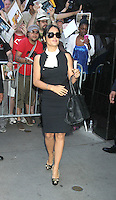 June 27, 2012 Salma Hayek at Good Morning America  in New York City to talk about her new movie Savages. © RW/MediaPunch Inc. /**NORTEPHOTO:COM**<br />
