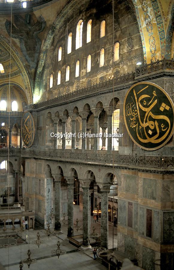 Turkey, Istanbul. Ayasofya Byzantine Basilica