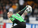 Glyn Thompson of Newport during the Blue Square Bet Premier match between Cambridge United and Newport County at the Abbey Stadium, Cambridge  on 25th September, 2010.© Kevin Coleman