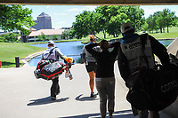 Ariya Jutanugarn (THA) and Moriya Jutanugarn (THA) emerge from the tunnel between 1 and 2 during round 4 of  the Volunteers of America Texas Shootout Presented by JTBC, at the Las Colinas Country Club in Irving, Texas, USA. 4/30/2017.<br /> Picture: Golffile | Ken Murray<br /> <br /> <br /> All photo usage must carry mandatory copyright credit (&copy; Golffile | Ken Murray)