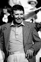 FILE PHOTO : Doris Lussier<br />  aprËs la Victoire de Pierre-Marc Johnson lors du vote final de la course ‡ la chefferie du Parti QuÈbÈcois, le 29 septembre 1985<br /> <br /> PHOTO : Denis Alix -  Agence Quebec Presse