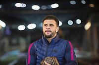 Kyle Walker of Manchester City arrives for the EPL - Premier League match between Swansea City and Manchester City at the Liberty Stadium, Swansea, Wales on 13 December 2017. Photo by Mark  Hawkins / PRiME Media Images.
