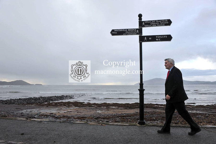 Mick O'Dwyer reflects on his distinguished career in his home town of Waterville in County Kerry..Picture by Don MacMonagle
