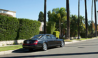 BNPS.co.uk (01202 558833)<br /> Pic: Juliens/BNPS<br /> <br /> Taylor luxurious Maybach limo. Est £80,000.<br /> <br /> A spectacular collection of over 1,000 items charting Elizabeth Taylor's life including her iconic outfits are up for sale for over £1million. ($1.25million)<br /> <br /> Dozens of designer gowns, fur coats and capes are being auctioned by the trustees of the estate of the late English actress.<br /> <br /> Also going under the hammer are the Hollywood icon's stylish wigs, scarves, shoes and jewellery.<br /> <br /> Items of her lavish furniture from her luxury homes across the world, right down to her personalised salt and pepper shaker, are included.