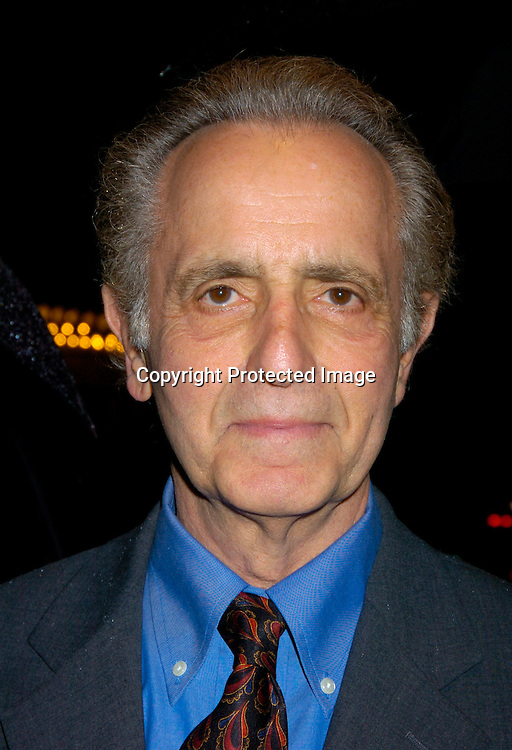 """Mark Medoff ..at The Broadway opening of """"Prymate"""" on May 5, 2004 ..starring Heather Tom, Phyllis Frelich, Andre De Shields and ..James Naughton at the Longacre Theatre in New YOrk City. ..Photo by Robin Platzer, Twin Images"""