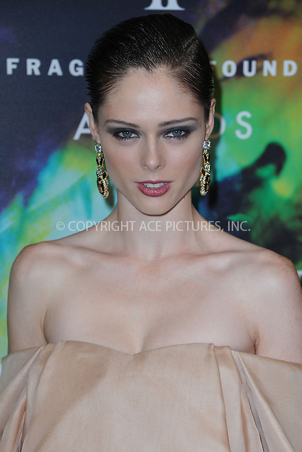 WWW.ACEPIXS.COM<br /> June 16, 2014 New York City<br /> <br /> Model Coco Rocha attending the 2014 Fragrance Foundation Awards on June 16, 2014 in New York City.<br /> <br /> Please byline: Kristin Callahan/AcePictures<br /> <br /> ACEPIXS.COM<br /> <br /> Tel: (212) 243 8787 or (646) 769 0430<br /> e-mail: info@acepixs.com<br /> web: http://www.acepixs.com