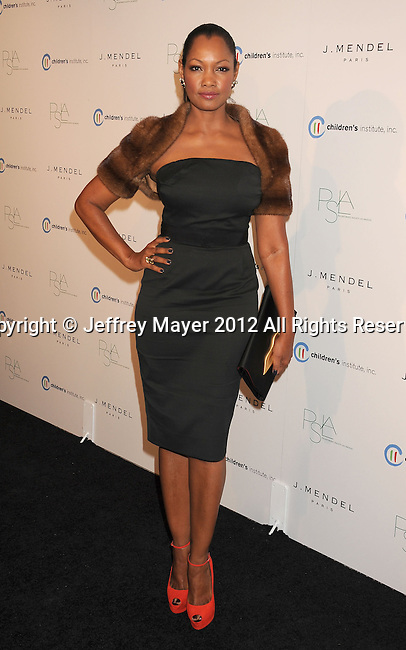 WEST HOLLYWOOD, CA - OCTOBER 17: Garcelle Beauvais arrives at the 3rd Annual Autumn party at The London West Hollywood on October 17, 2012 in West Hollywood, California.