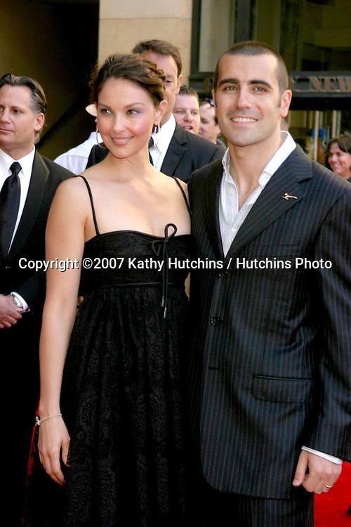 Ashley Judd & husband Dario Franchitti.ESPY Awards 2007.Kodak Theater.Los Angeles, CA.July 11, 2007.©2007 Kathy Hutchins / Hutchins Photo....