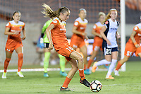Houston, TX - Saturday July 15, 2017: Janine Beckie during a regular season National Women's Soccer League (NWSL) match between the Houston Dash and the Washington Spirit at BBVA Compass Stadium.