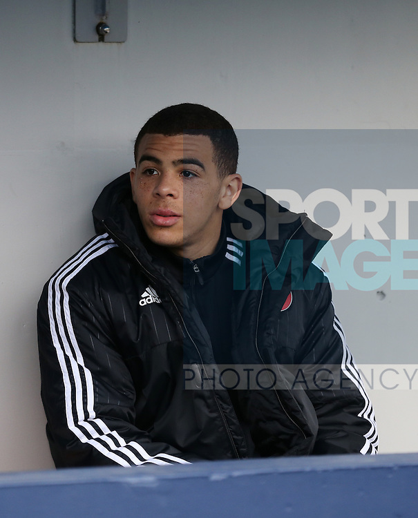 Sheffield United's Che Adams looks on during the League One match at The Den.  Photo credit should read: David Klein/Sportimage