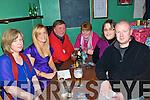 Quiz: Taking part in the pub quiz in aid of Clounmacon GAA club in the Kingdom Bar in Listowel on Friday night last were Sharon Carty, Mary Burke, Jim Burke, Breda Burke,  Nicola Carty and Brian Carty, Chairman, Clouunmacon GAA club.