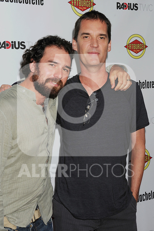 HOLLYWOOD, CA - AUGUST 23: John Nau and Andrew Feltenstein arrive at the Los Angeles premiere of 'Bachelorette' at the Arclight Hollywood on August 23, 2012 in Hollywood, California. /NortePhoto.com.... **CREDITO*OBLIGATORIO** *No*Venta*A*Terceros*..*No*Sale*So*third* ***No*Se*Permite*Hacer Archivo***No*Sale*So*third*
