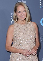 11 January 2018 - Santa Monica, California - Katie Couric. 23rd Annual Critics' Choice Awards held at Barker Hangar. <br /> CAP/ADM/BT<br /> &copy;BT/ADM/Capital Pictures