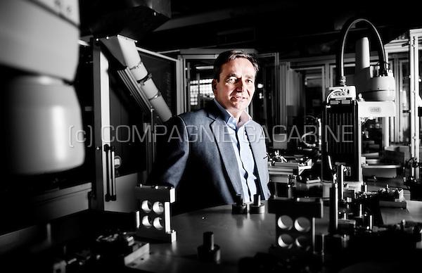 Geoffrey Boonen, ceo of the process controlled plastics company Procoplast (Belgium, 21/10/2015)