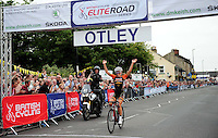 Picture by Simon Wilkinson/SWpix.com - 02/07/2014 - Cycling - 2014 DM Keith Skoda Otley Cycle Races - Otley, Yorkshire, England<br />