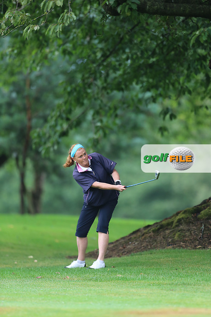 Lorna Duffy (Strabane) during the Ulster Mixed Foursomes Final, Shandon Park Golf Club, Belfast. 19/08/2016<br /> <br /> Picture Jenny Matthews / Golffile.ie<br /> <br /> All photo usage must carry mandatory copyright credit (© Golffile | Jenny Matthews)