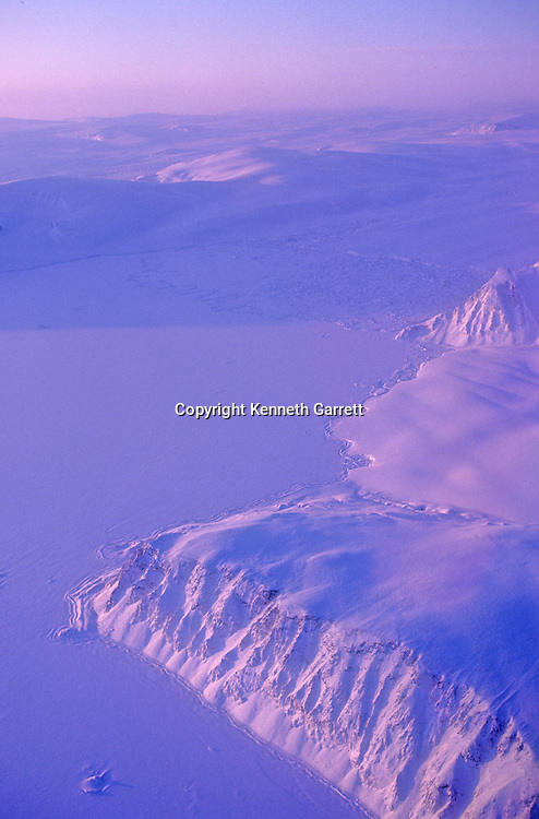 Nature; Scenic; Snow; Greenland; Aerial; Ice; Global Warming; scenic; Thule; Air Force Base