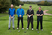 Team UHY Hacker Young from left: James Simmonds, Lloyd Smith, Tim Clarke and John Land