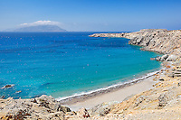 Araki beach in Karpathos, Greece