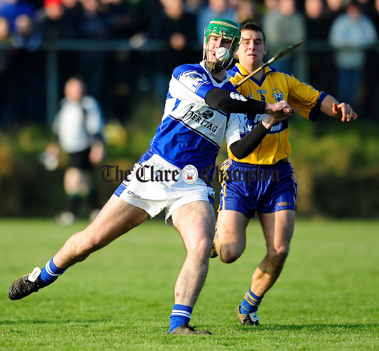 NHL Clare v Laois at Scariff.Pic Arthur Ellis.