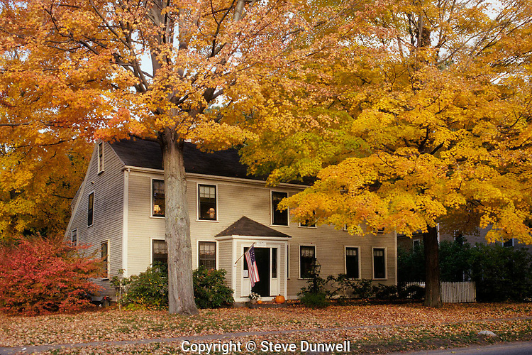 Colonial house, Concord, MA
