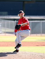 Trevor Bell / Los Angeles Angels 2008 Instructional League..Photo by:  Bill Mitchell/Four Seam Images