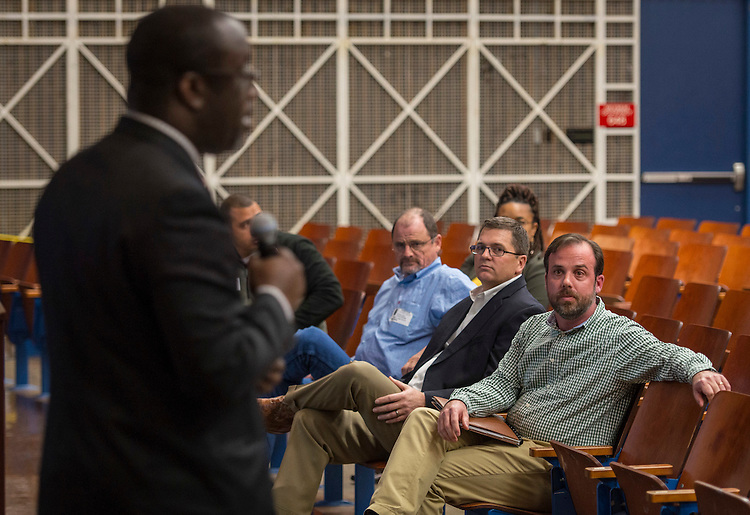 Bond community meeting at Madison High School, January 19, 2017.