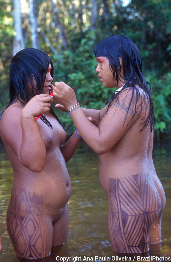 Amazon naked native women vagina