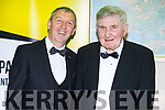 Peter Keane & Mick O'Dwyer at the Black Tie Dinner Celebration & Fundraiser in aid of Waterville GAA and Local Charities held in the Sea Lodge Waterville on Sunday night
