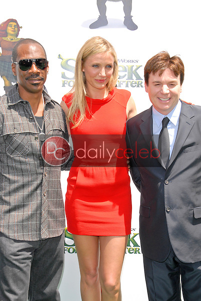 Eddie Murphy, Cameron Diaz and Mike Myers<br />